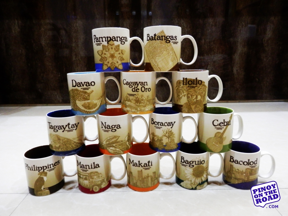 Mugs # 1 to 14 | Starbucks Icon Mug | Starbucks Philippines Complete Collection