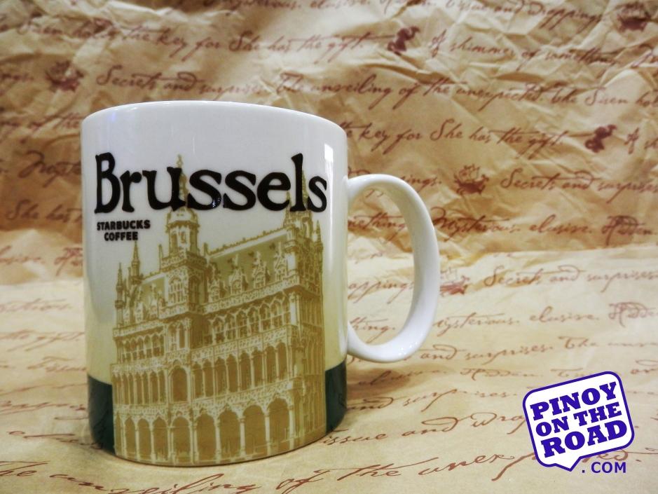 Mug # 38   Brussels Starbucks Icon Mug