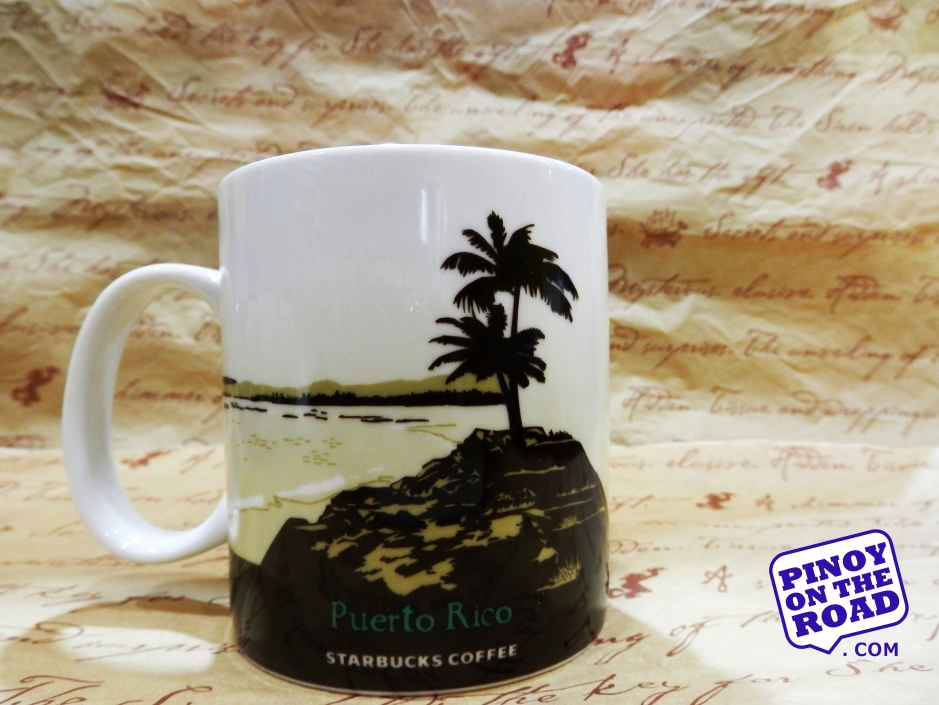 Mug # 80  Puerto Rico Starbucks Icon Mug