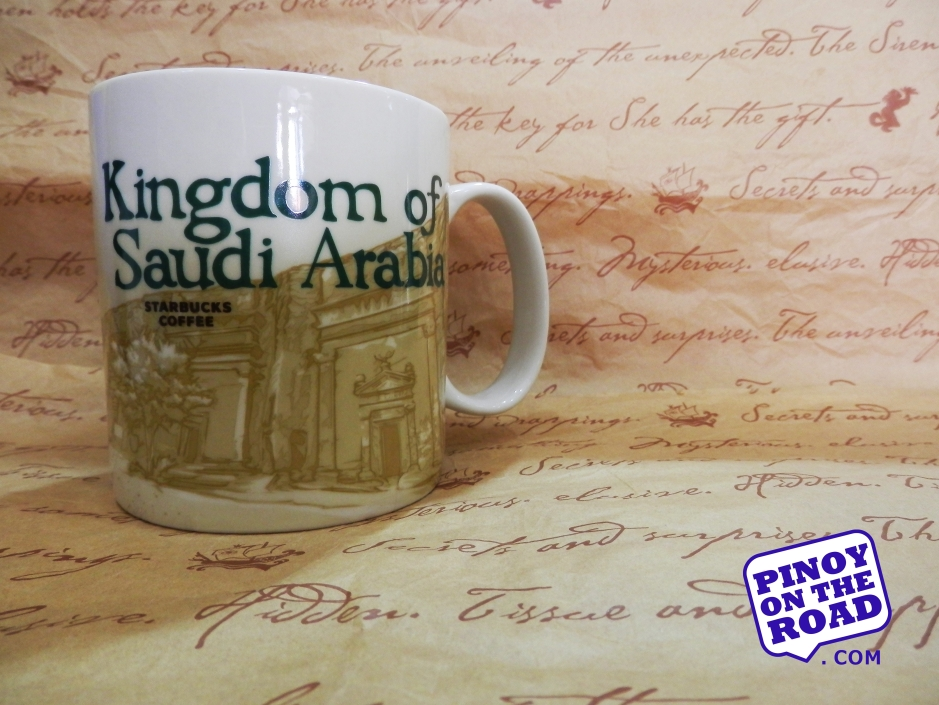 Mug # 92| Kingdom of Saudi Arabia Starbucks Icon Mug